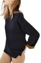 Topshop Women's Double Faced Sweater