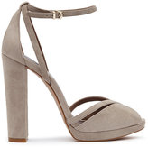 Reiss Elvi Block-Heel Platform Shoes