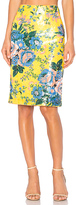 Diane von Furstenberg Tailored Pencil Skirt in Yellow. - size 2 (also in 4,6)