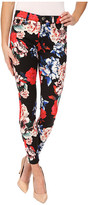 7 For All Mankind The Mid Rise Ankle Skinny in Peony Floral