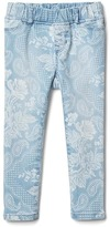 Gap High stretch bandana print jeggings