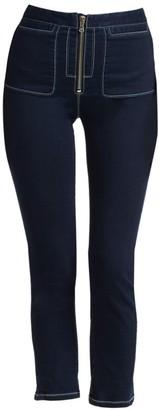 Rachel Comey Concur Zip-Front Jeans