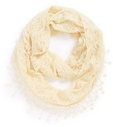 David & Young Lace Infinity Scarf (Juniors)