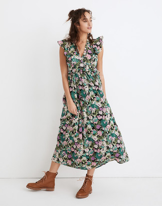 Madewell Banjanan Honey Maxi Dress in Fiesta Floral