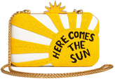 Alice + Olivia Ao X The Beatles Here Comes Sun Clutch