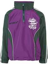 Parkgate House School Unbranded Tracksuit Top, Purple/Green
