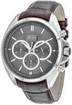 HUGO BOSS Driver 1513035 Men's Round Brown Leather Watch