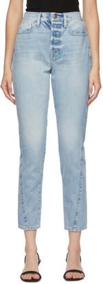 Frame Blue Le Original Skinny Twist Jeans