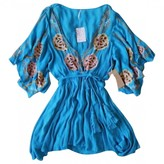 Free People Turquoise Cotton Dresses