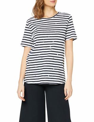 Silvian Heach Women's T-Shirt Dines Kniited Tank Top