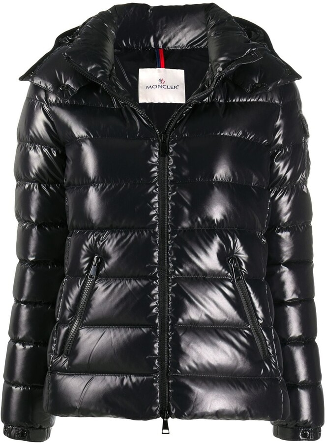 Moncler Logo Patch Puffer Jacket