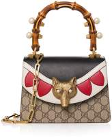 Gucci Broche GG Supreme Shoulder Bag