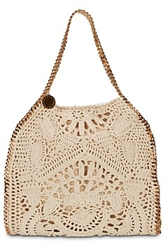 Stella McCartney Falabella Small Crochet Tote