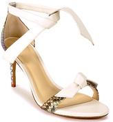 Alexandre Birman New Patty - Tie Sandal