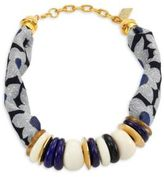 Lizzie Fortunato Floral Kanga Necklace