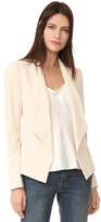 Alice + Olivia Francisca Draped Collar Blazer