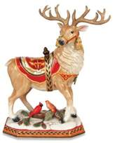 Fitz & Floyd Damask Holiday Deer Figurine