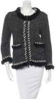 Chanel Fantasy Fur Zip Cardigan