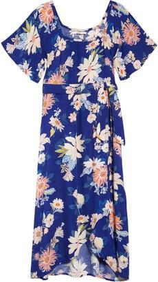 O'Neill Lilla Floral Print Woven Dress