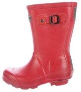 Hunter Girls' Round-Toe Rain Boots