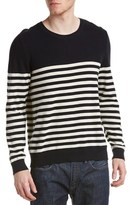 The Kooples Striped Crewneck Sweater.