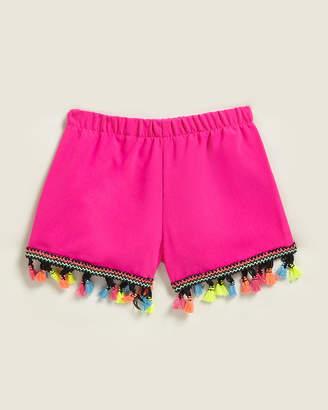 Mia Girls 4-6x) Pom Pom Trim Shorts