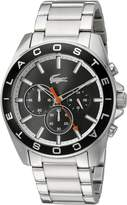 Lacoste Men's 'WESTPOINT' Quartz Stainless Steel Casual Watch (Model: 2010855)