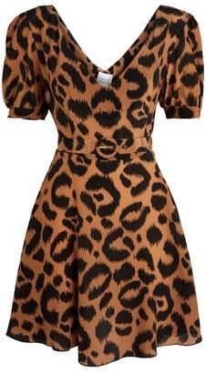 Hayley Menzies Leopard Tea Dress
