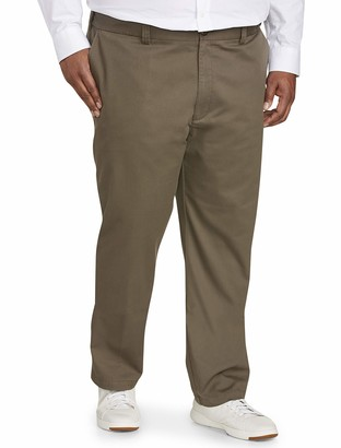 Amazon Essentials Men's Big & Tall Athletic-fit Wrinkle-Resistant Flat-Front Chino Pant fit by DXL