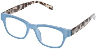 Peepers Women's Vintage Vibes - Green/gray Tortoise 2512250 Wayfarer Reading Glasses