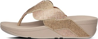 FitFlop Paisley Rope Toe-Post Sandals