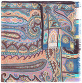 Etro printed scarf - women - Modal/Cashmere - One Size