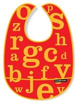 Crocodile Creek Letters Bib - Red by