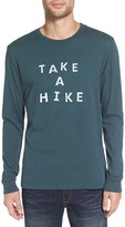 Altru Men's 'Take A Hike' Long Sleeve T-Shirt