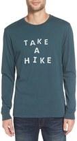 Altru Men's 'Take A Hike' Long Sleeve T-Shirt