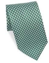Salvatore Ferragamo Silk Octopus Tie