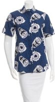 Alice McCall Printed Solange Top