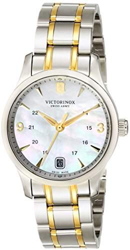 Victorinox Women's 249062 Alliance Analog Display Swiss Quartz Two Tone Watch