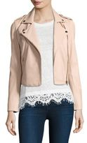 Generation Love Callahan Lace-Up Leather Moto Jacket