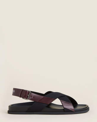 Valentino Slingback Flat Sandals