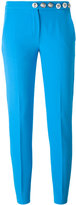 Versus lion buttons trousers - women - Polyamide/Polyester/Spandex/Elastane/Viscose - 42