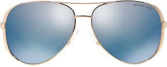 Michael Kors Aviator-Frame Sunglasses
