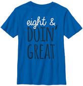 Fifth Sun Boys' Tee Shirts ROYAL - Royal 'Eight & Doin' Great' Tee - Boys