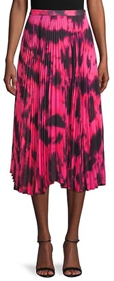 DELFI Collective Pleated Printed Skirt