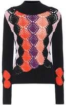 Peter Pilotto Cotton-blend turtleneck sweater