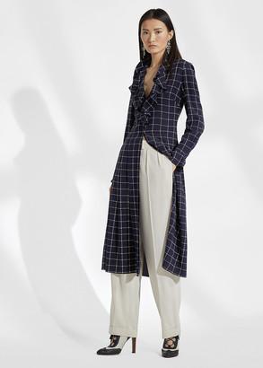 Ralph Lauren London Plaid Silk Shirtdress