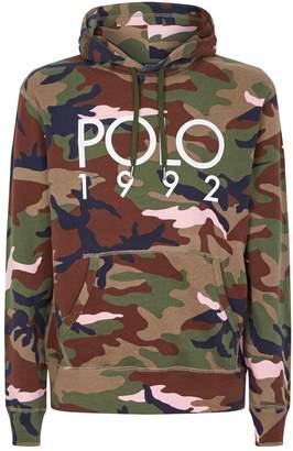 Polo Ralph Lauren Graphic Logo Camouflage Hoodie
