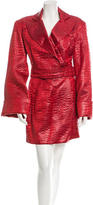 Versace Textured Skirt Suit w/ Tags