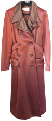 Chloé Brown Wool Coat for Women Vintage