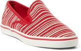 Ralph Lauren Janis Striped Canvas Sneaker